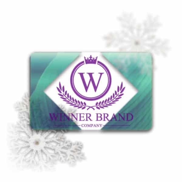 Frosted Plastic Business Cards